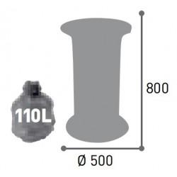 Corbeille tulipe 60 litres