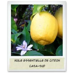Huile essentielle naturelle de Citron - 30mL