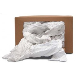 Chiffons de draps blancs