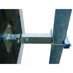 Miroir rectangulaire antigivre / antibuée autonome