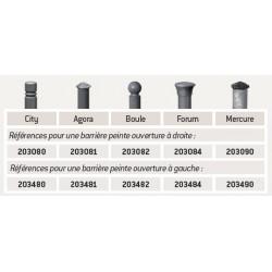 """Tableau références Barrière tournante """"Province"""""""