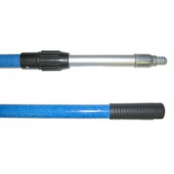 Manche télescopique 2 x 1,50 m PRO bleu