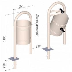Corbeille Vercors 40 litres