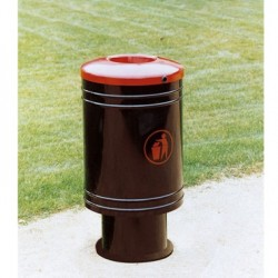 Corbeille Gascogne metal 60 litres