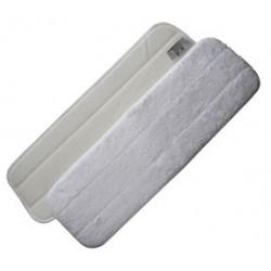 Mop Microfibre 60 cm blanc avec velcro