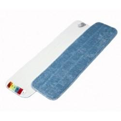 Mop Microfibre 60 cm bleu avec velcro et codes couleur
