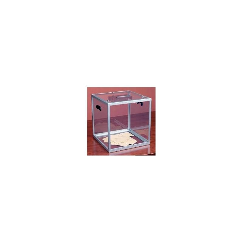 Urne transparente 600-800 bulletins