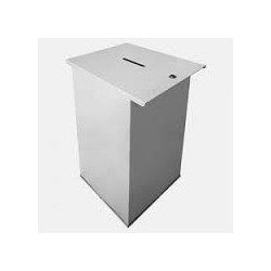 Urne électorale métallique  1000 Bulletins