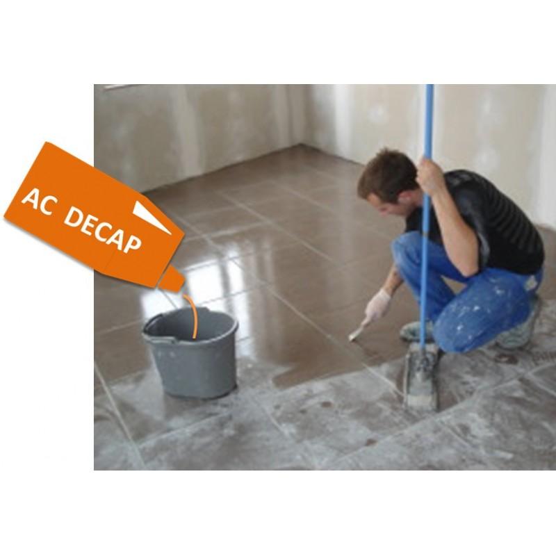 AC DECAP, acide  puissant à diluer pour le nettoyage des surfaces recouvertes d'un voile de béton ou ciment