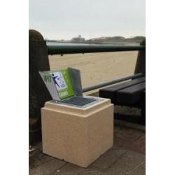 Support cendrier megosol en beton à poser