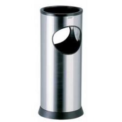 CENDRIER /CORBEILLE 17.5L KIPSO INOX BROSSE a SABLE