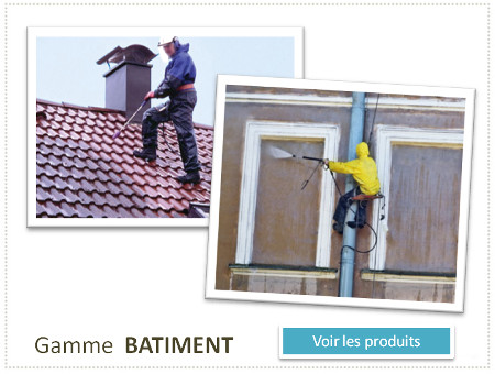 maintenance batiment, hydrofuge, destructeurs de mousse